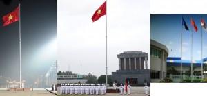 Cột cờ inox Việt Nam