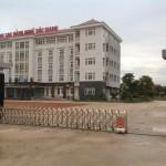 Cổng xếp inox tự động Hồng Môn độc quyền phân phối tại Việt Nam