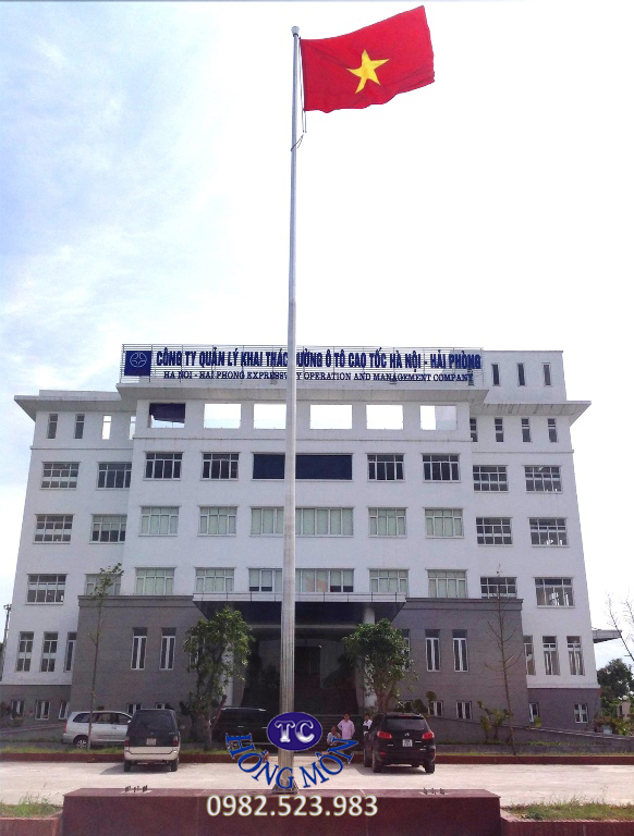 Cột cơ cơ quan quản lý đường cao tốc Hà Nội - Hải Phòng