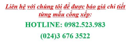 Liên hệ báo giá cổng xếp inox Hồng Môn