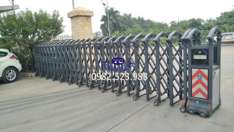 Cổng xếp Thường Tín Hà Nội model 1398
