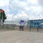 Báo giá cổng xếp inox tại Hà Nội - Giá cổng xếp điện điều khiển từ xa